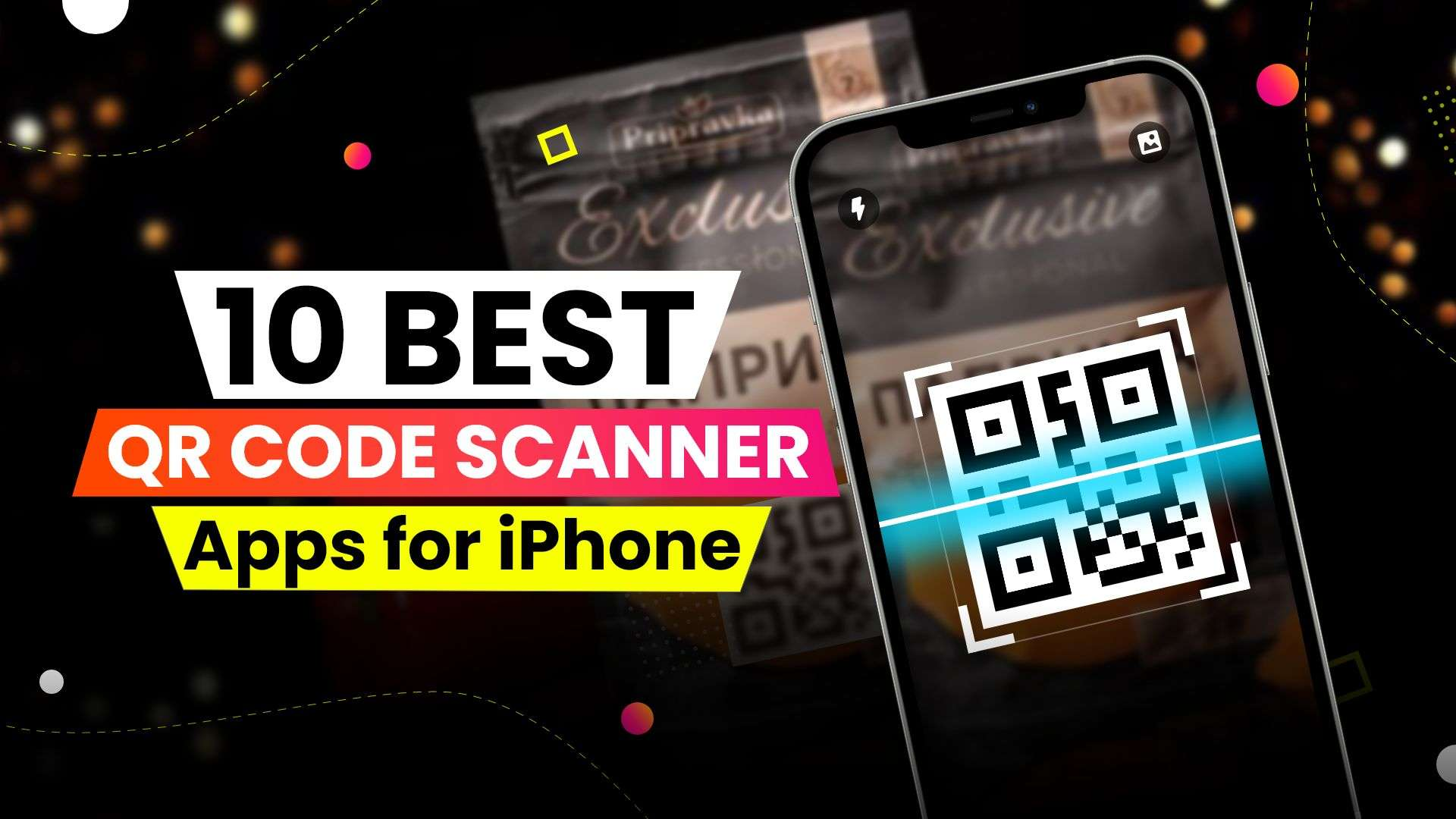 QR reader apps for iPhone
