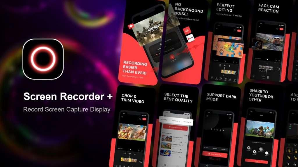 Screen Recorder + app