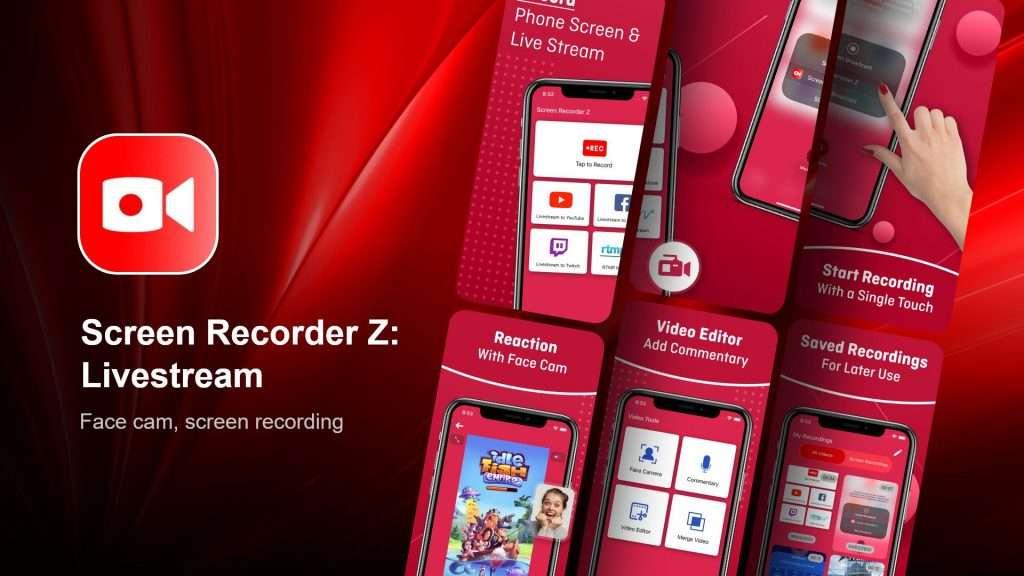 Screen Recorder Z Livestream
