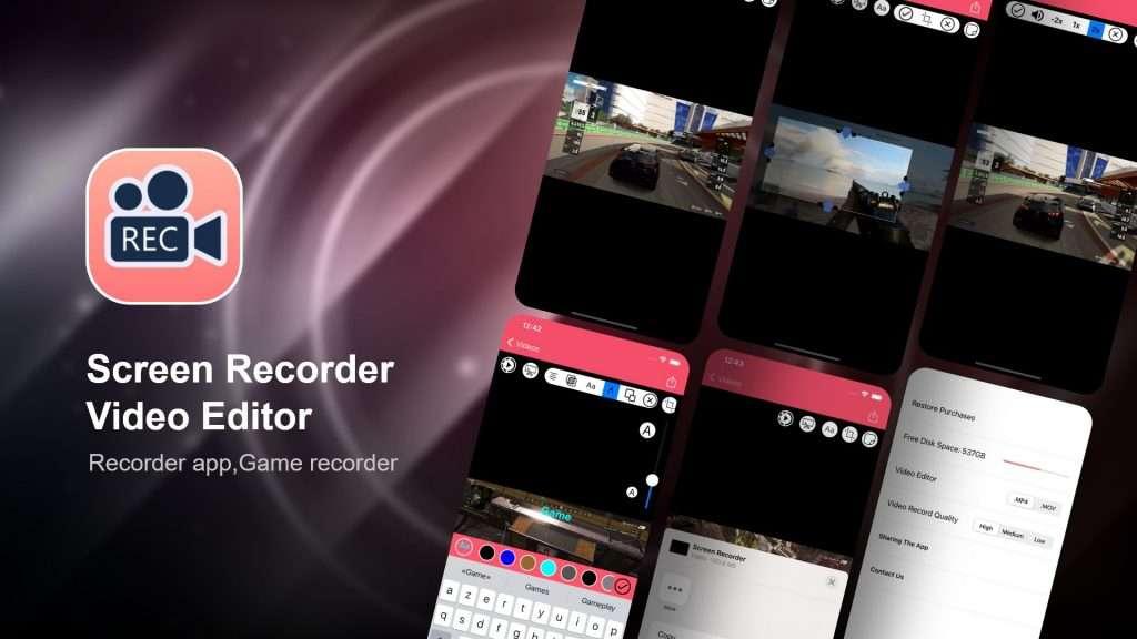 Screen Recorder, Video Editor