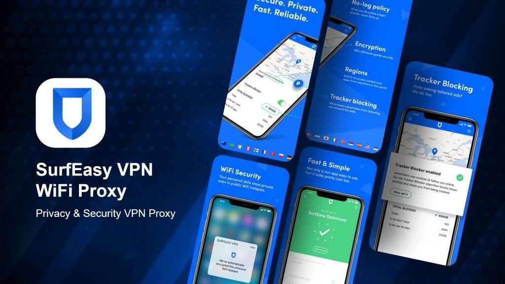 SurfEasy VPN WiFi Proxy