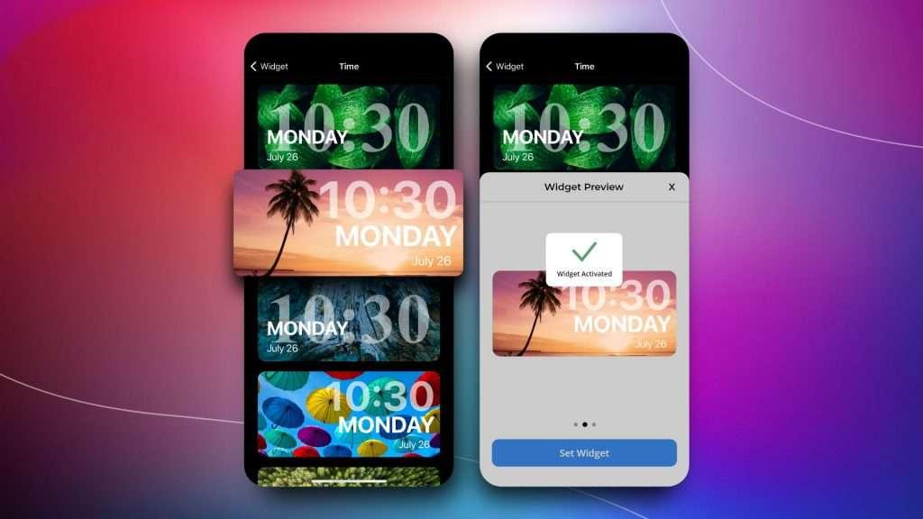 how to add a widget | widget iPhone