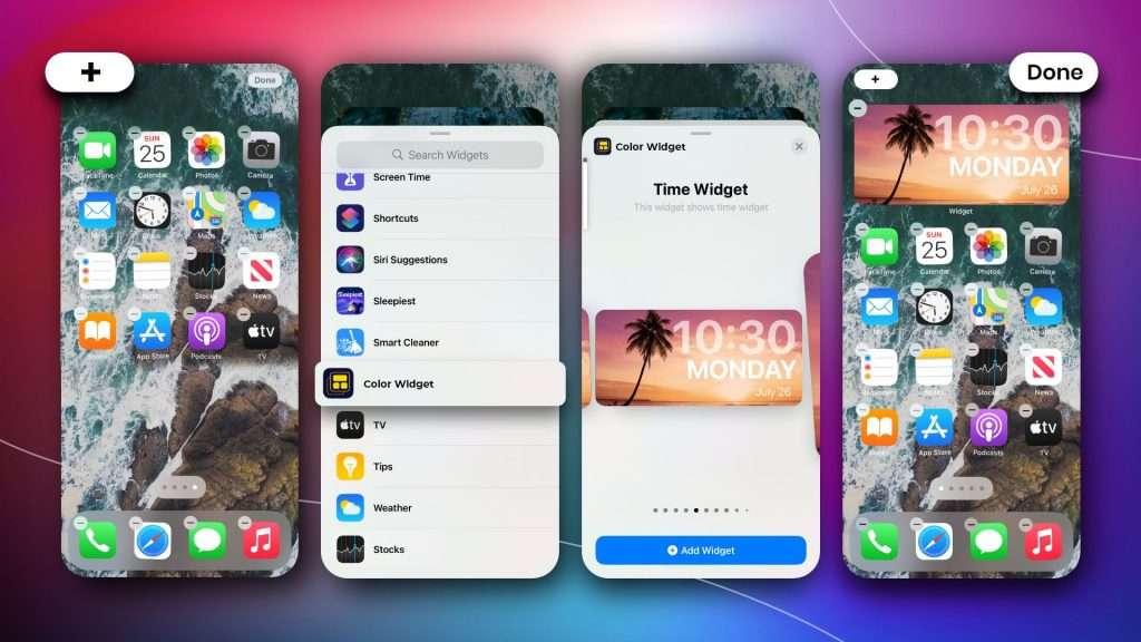 how to add custom widgets ios 14| iPhone home screen ideas