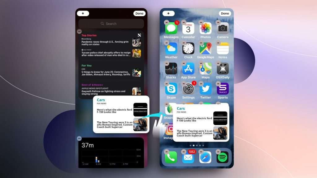 how to customize home screen ios 14 | widgets iPhone