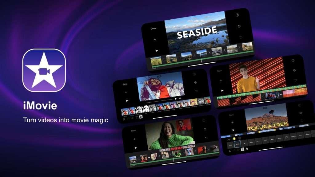 iMovie best video editing app