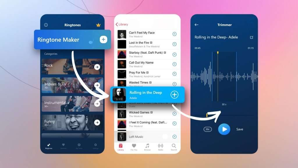 how to make a song your ringtone on iPhone | create ringtones from songs