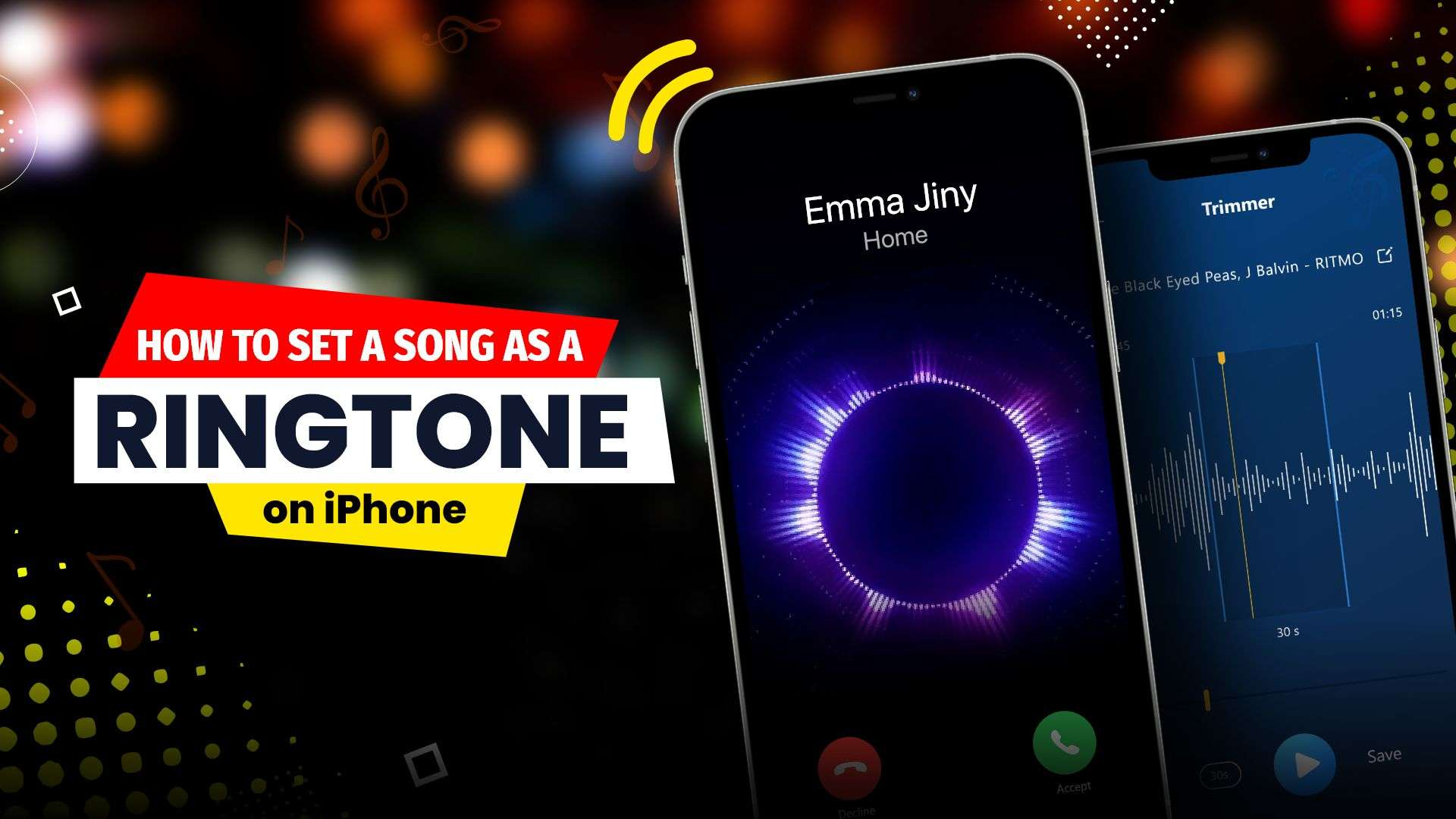 how to set a song as a ringtone on iPhone