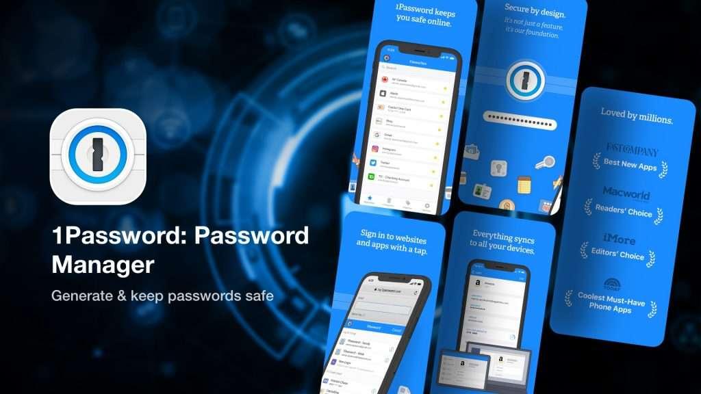 1Password iPhone Password Manager