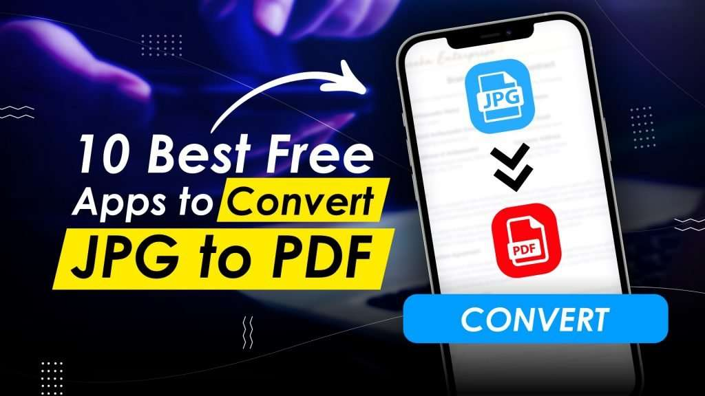 Apps to convert jpg to pdf