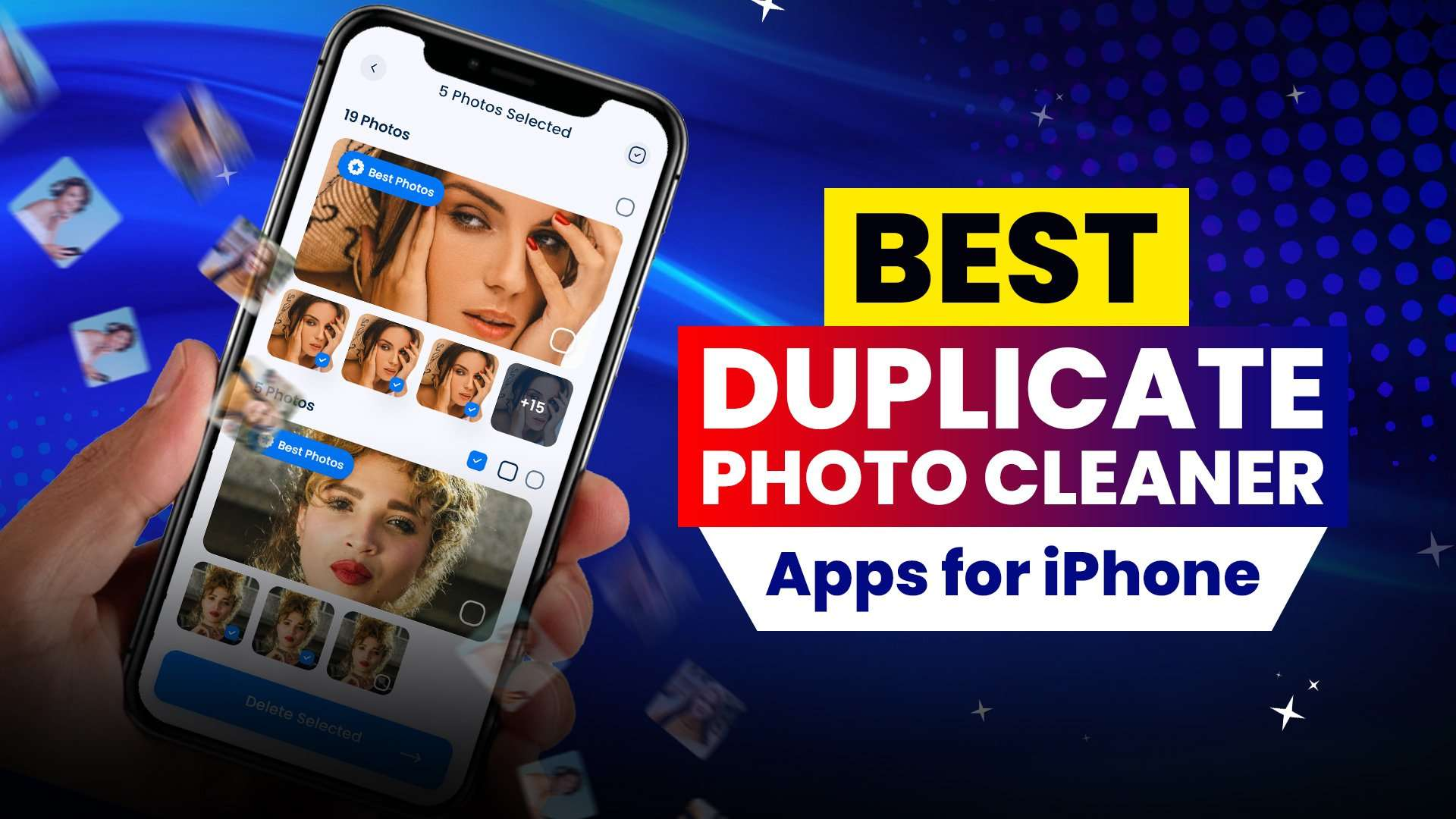 Best free duplicate photo cleaner apps for iPhone