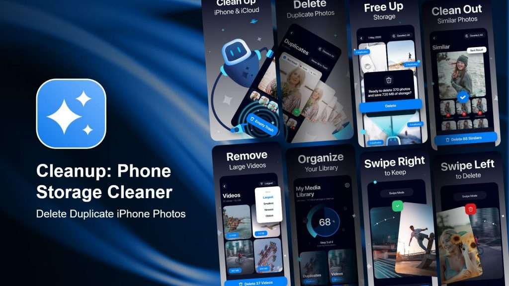 Delete temp files with the best photo cleaner app