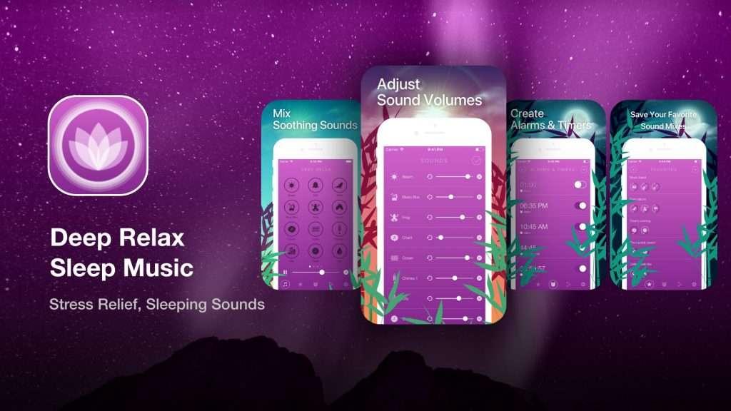 Deep Relax Sleep Music apps