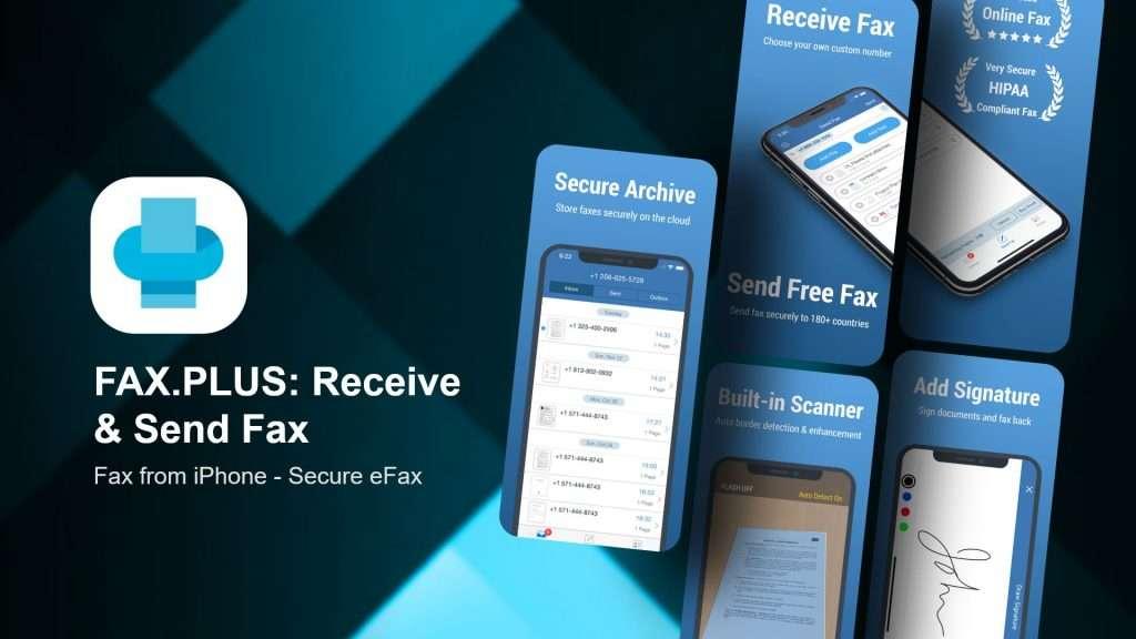 FAX PLUS Receive & Send Fax