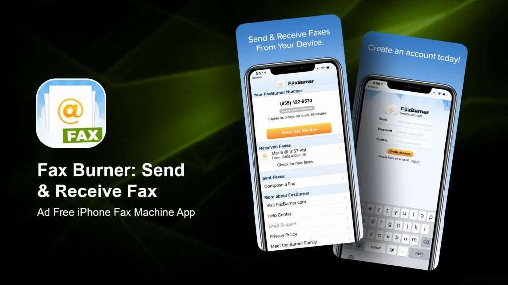 Fax Burner Send & Receive Fax