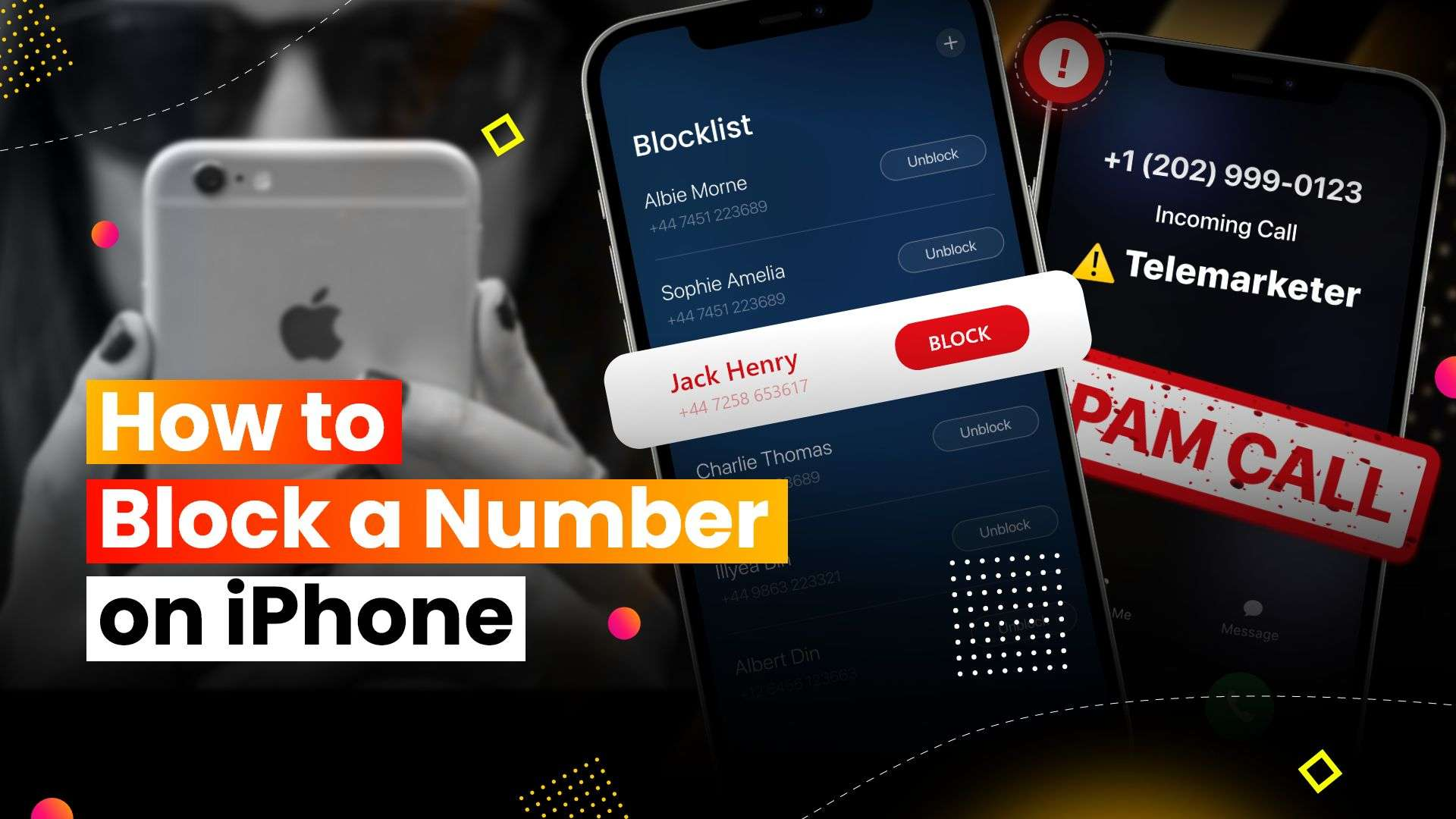 How to Block a Number on iPhone