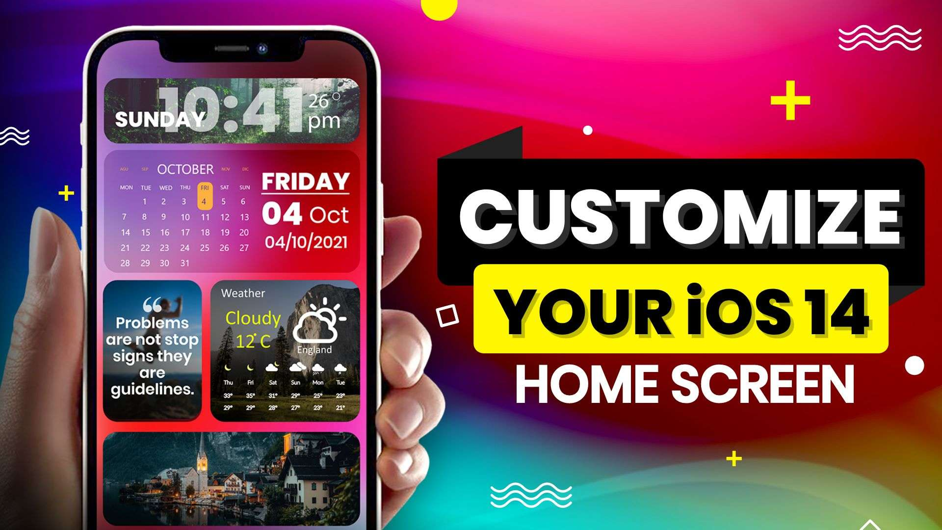How to customize iOS 14 home screen