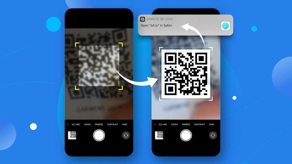 How to scan a QR code on iPhone with Camera app 01