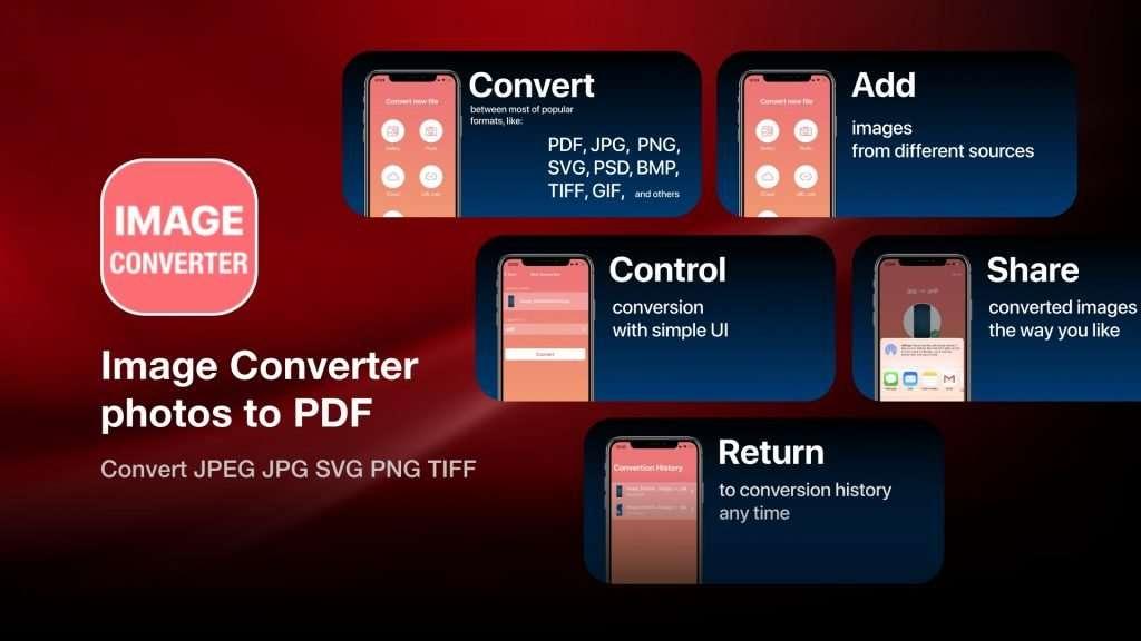 Image Converter photos to PDF iPhone