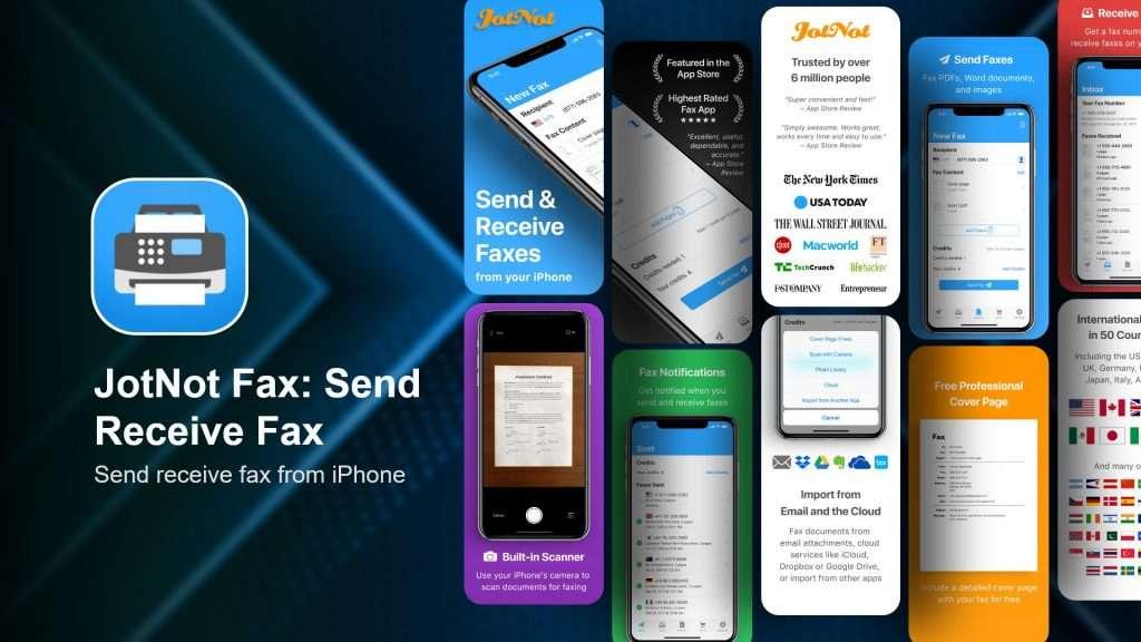 JotNot Fax Send Receive Fax