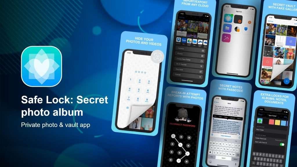 Safe Lock secret photo album