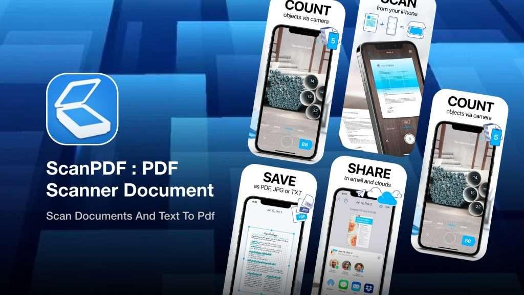 ScanPDF PDFScanner Document   photo to pdf converter