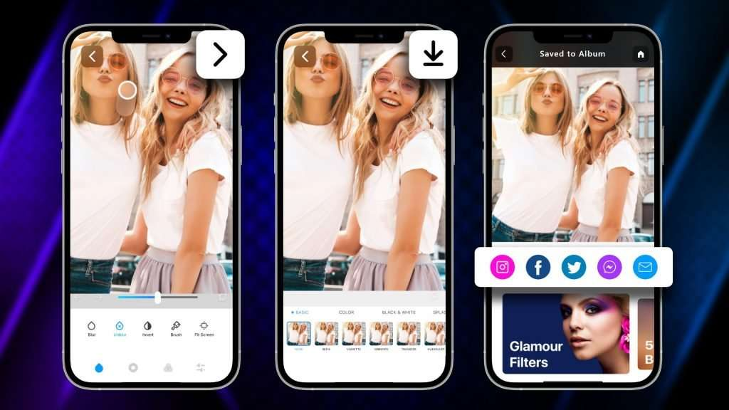 how to fix a blurry picture on iPhone