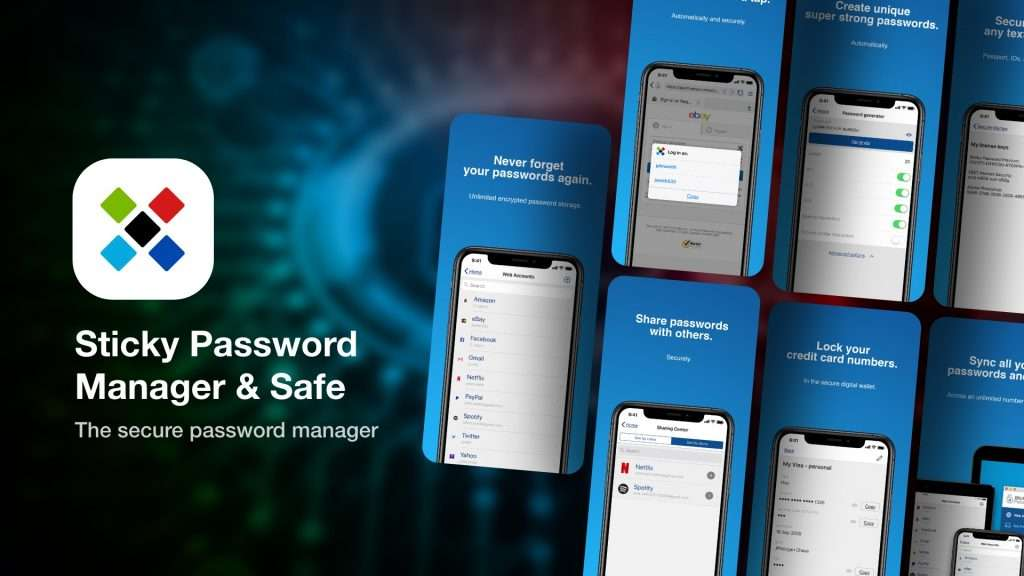 Sticky Password Manager & Safe | save passwords on iPhone