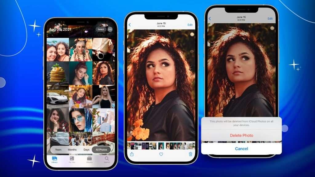 delete duplicates in Photos app 01