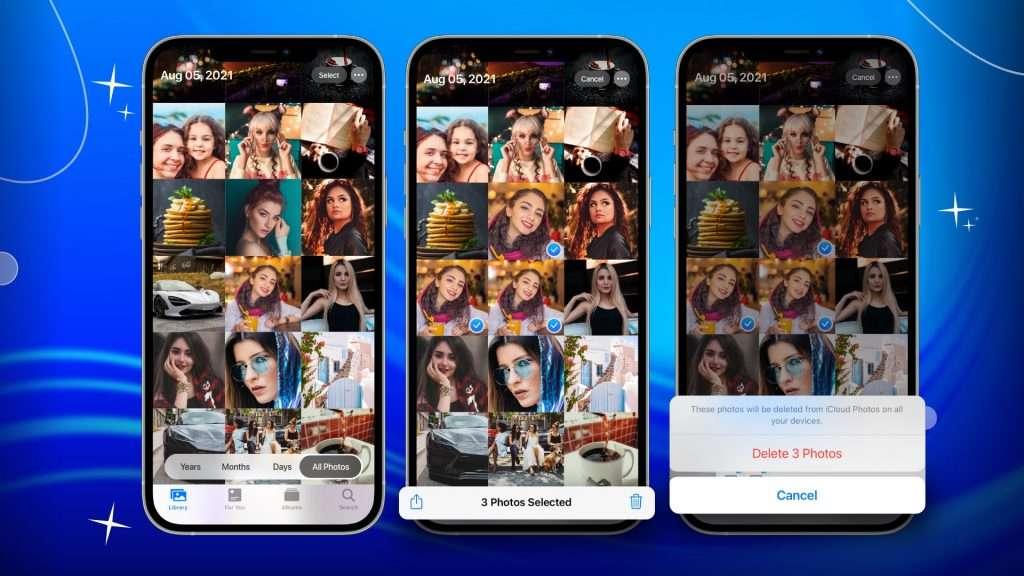 delete duplicates in Photos app 02