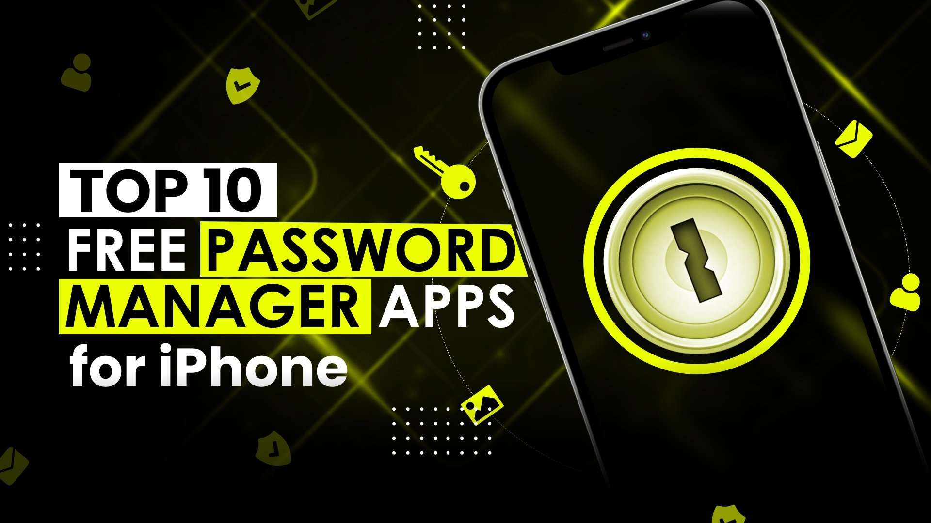 iPhone password manager apps