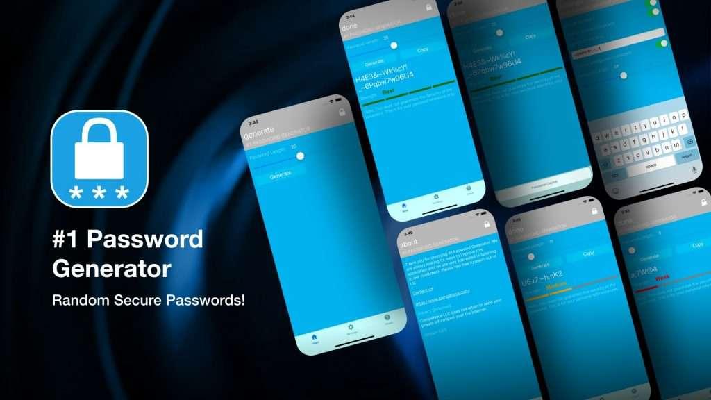 #1 Password Generator app for iPhone