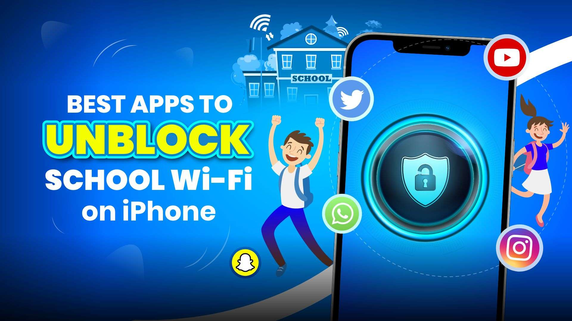 10 best apps to unblock school wifi restrictions on iPhone