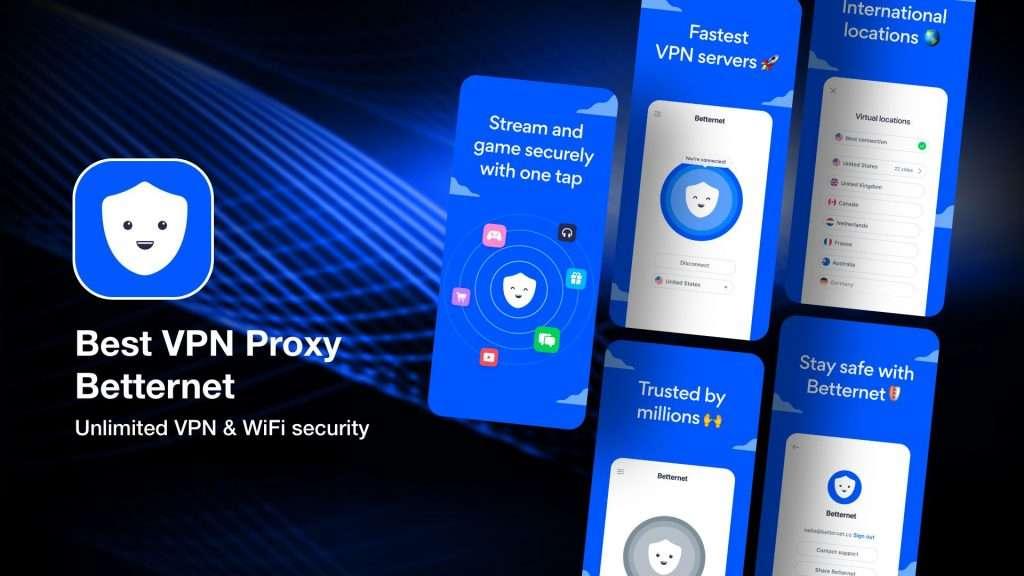 Best VPN Proxy Betternet for iPhone