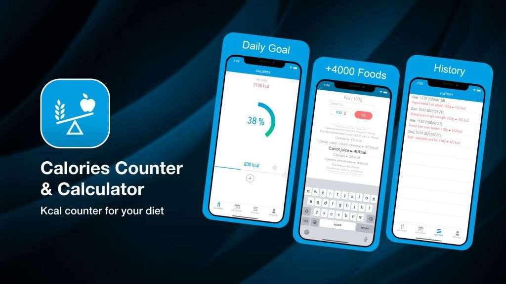 Calories Counter & Calculator-weight loss tracker apps for iPhone
