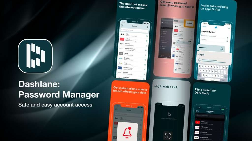 Dashlane – Password Manager app for iPhone