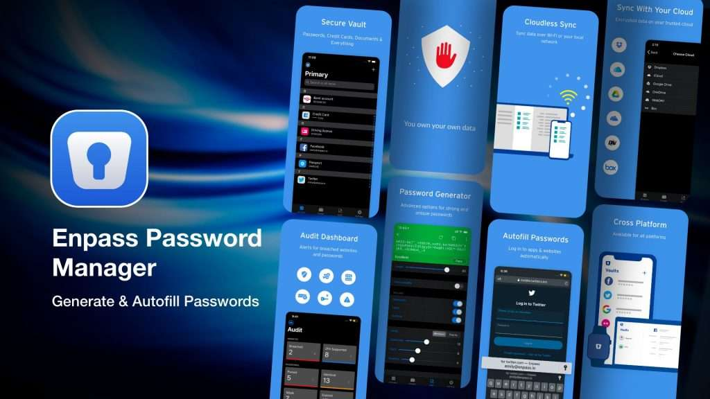Enpass Password Manager app for iPhone
