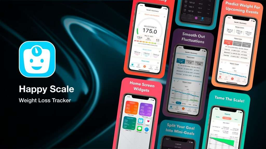 Happy Scale-weight loss tracker apps for iPhone
