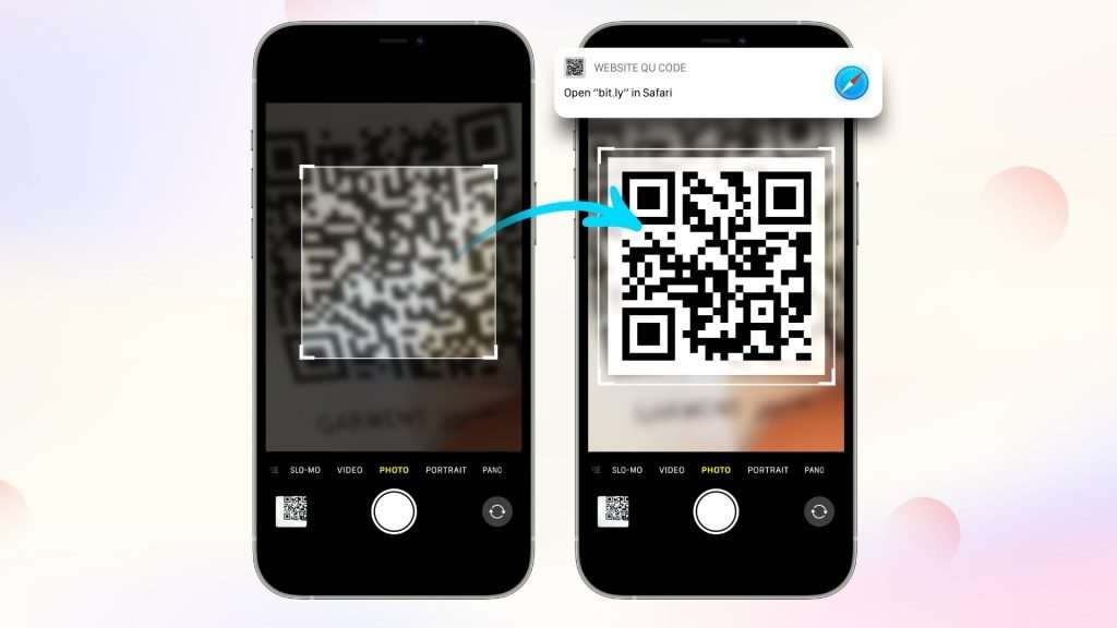 How to scan a QR code on iPhone_Camera app