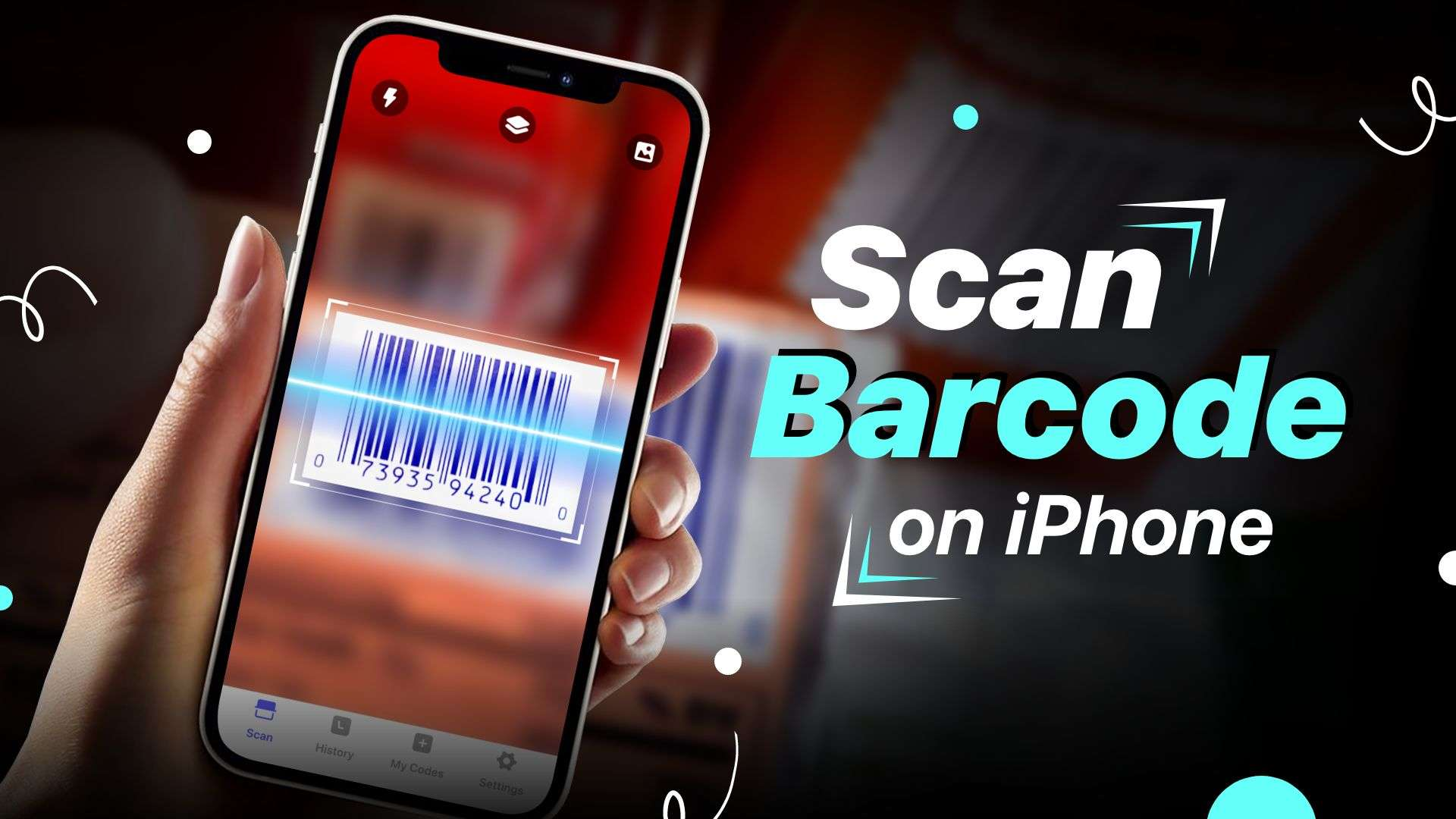 how to scan barcode on iPhone