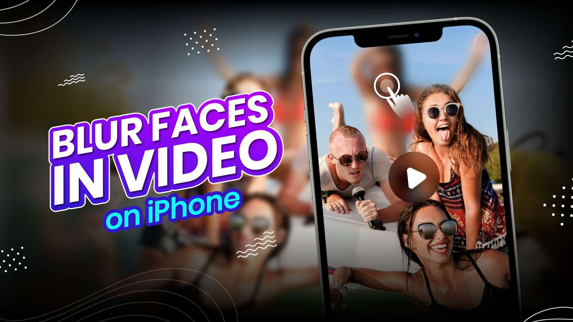 How to blur face in video on iPhone
