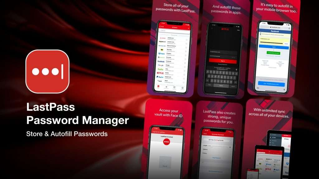 LastPass Password Manager app for iPhone