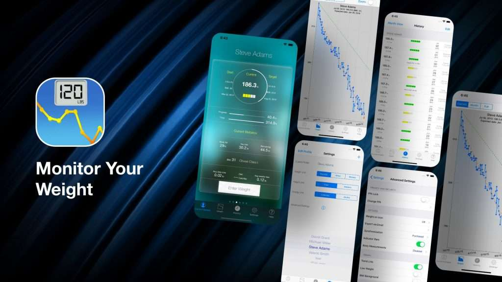 Monitor YourWeight-weight loss tracker apps for iPhone