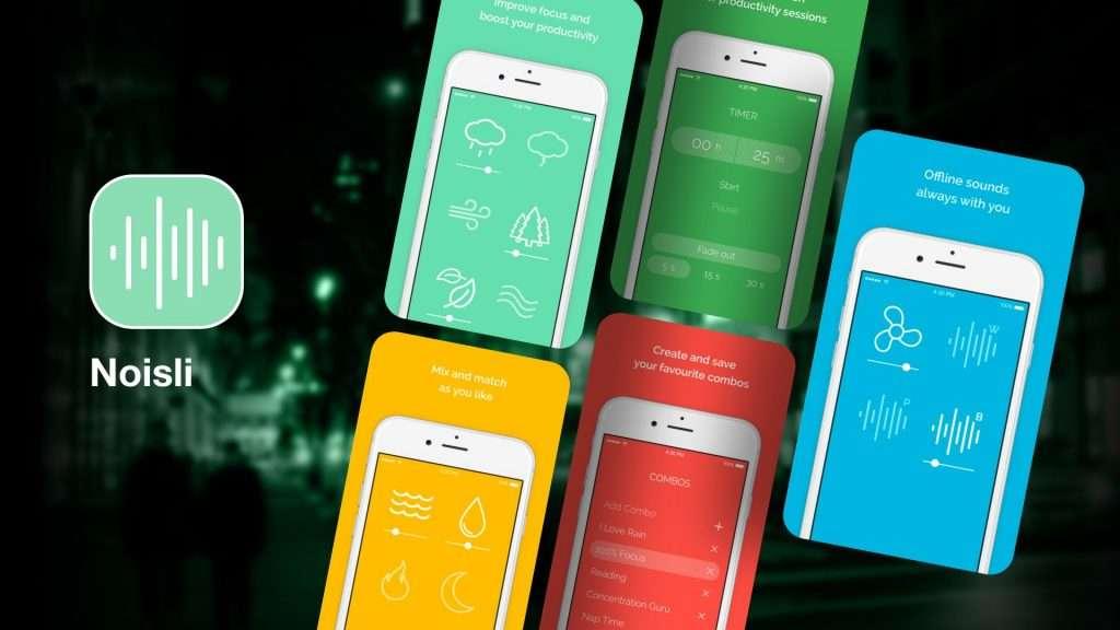 Noisli-sleep apps for insomnia
