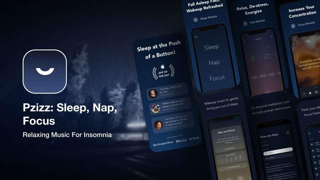 Pzizz Sleep, Nap,Focus