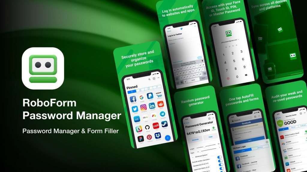 RoboForm Password Manager app for iPhone