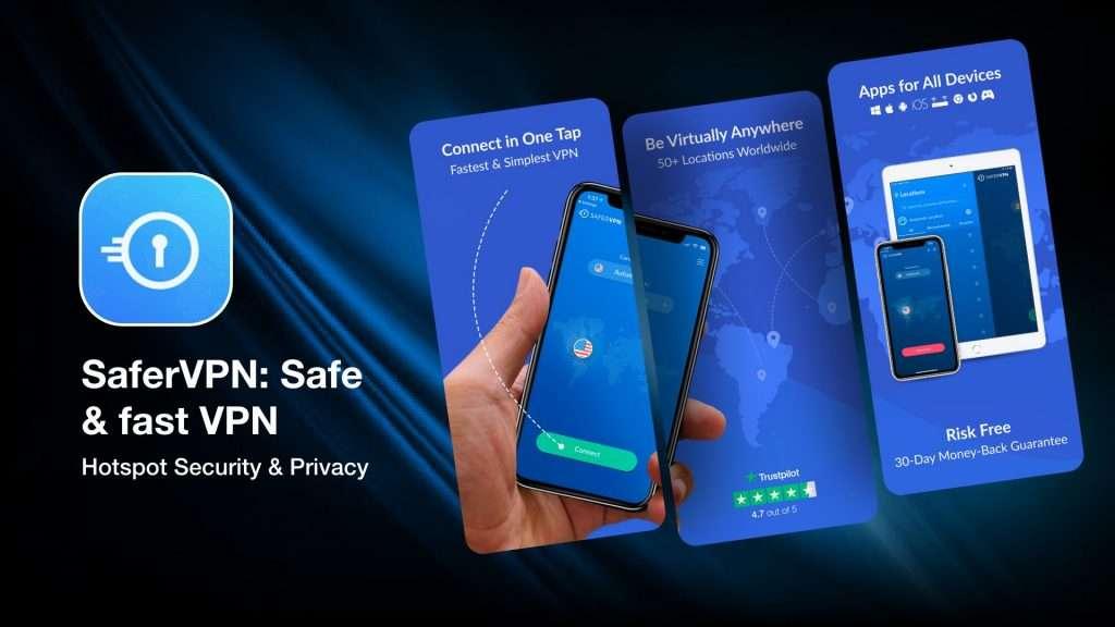 SaferVPN Safe & fast VPN for iPhone