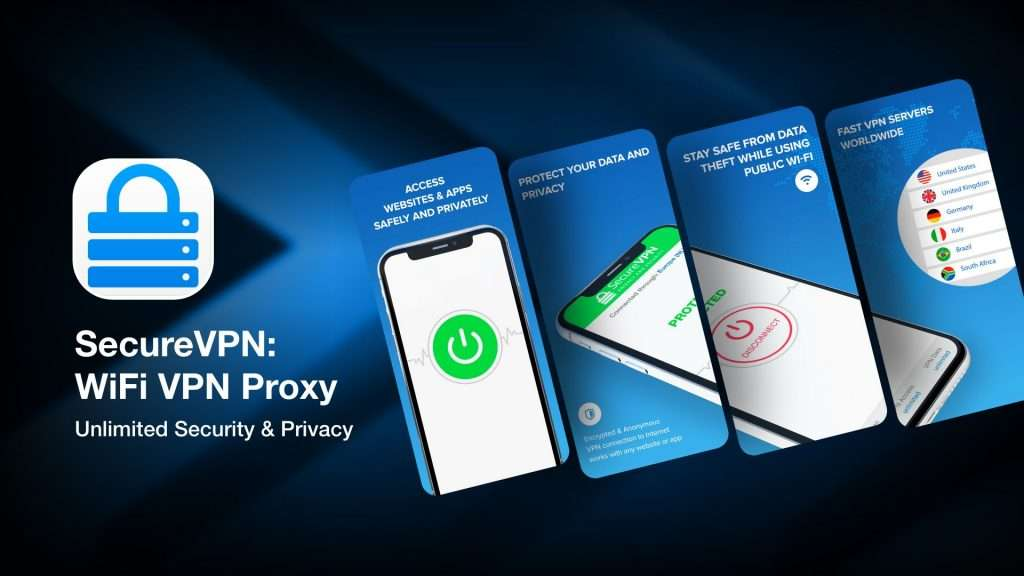 SecureVPN - WiFi VPN Proxy for iPhone