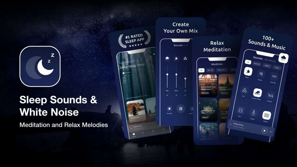 Sleep Sounds &White Noise-sleep apps for insomnia