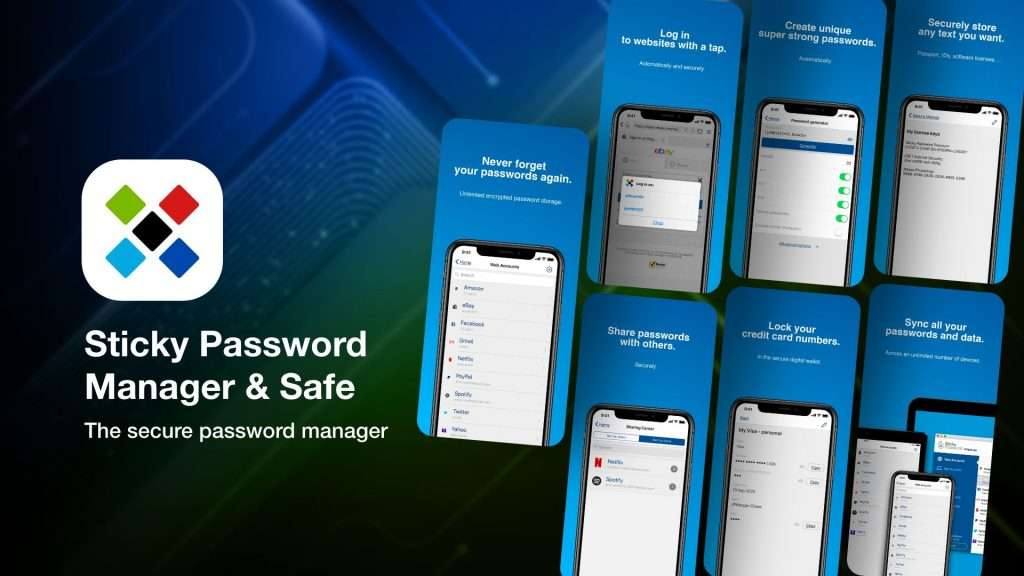 Sticky Password Manager & Safe for iPhone