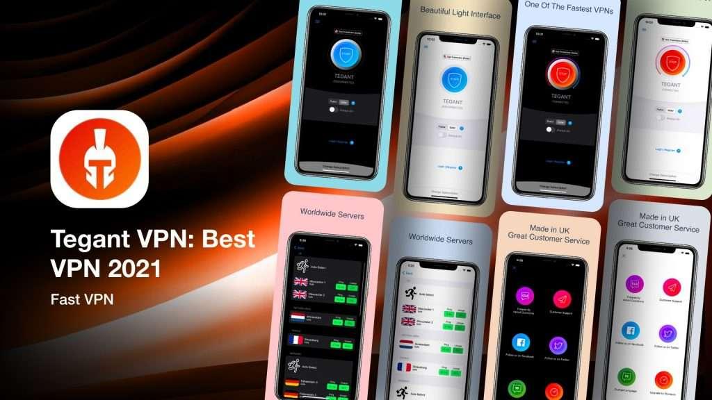 Tegant VPN BestVPN 2021 for iPhone
